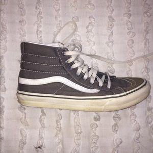 Vans High Tops - Gray